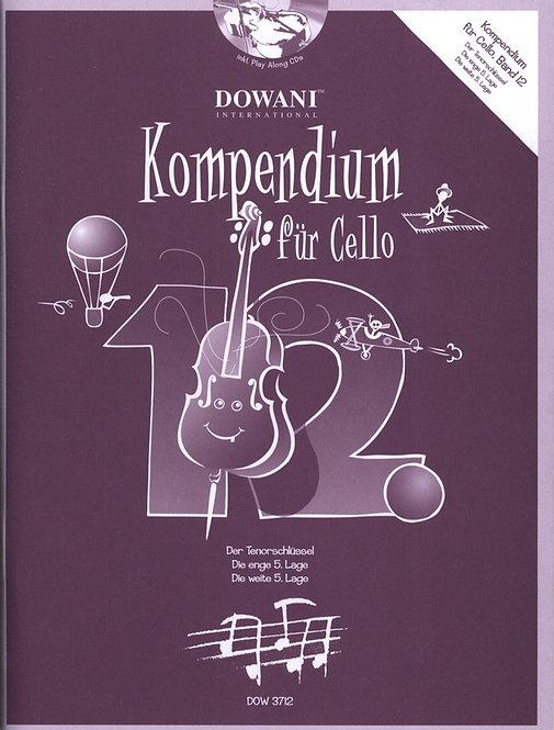Kompendium für Cello Band 12 (+CD)
