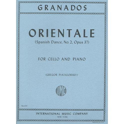 Granados: Orientale (Spanish Dance No. 2)