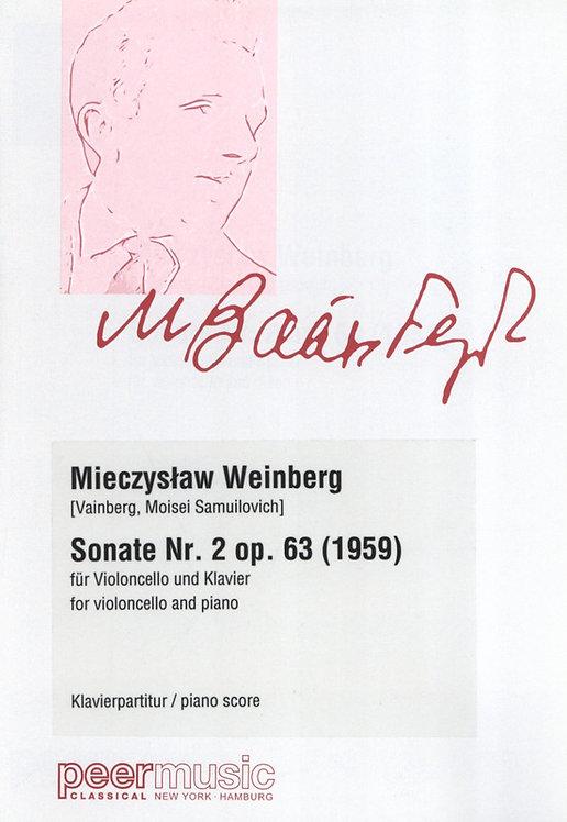 Weinberg: Sonate Nr. 2 op. 63