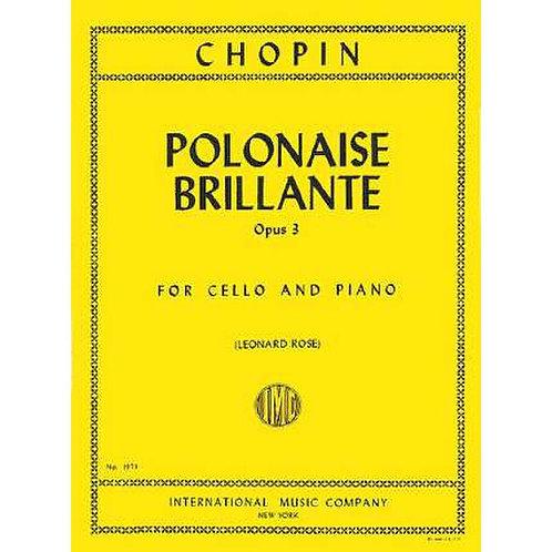 Chopin: Polonaise Brillante Op 3