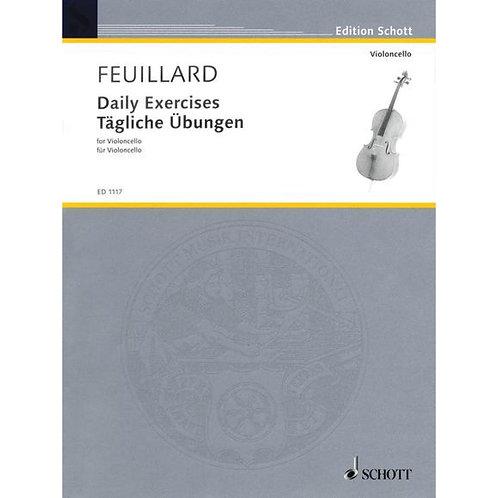 Feuillard: Tägliche Übungen für Violoncello