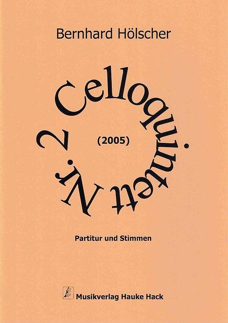 Hölscher: Celloquintett Nr.2 (2005)