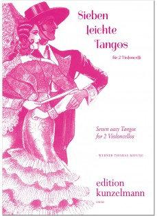 7 leichte Tangos für 2 Violoncelli