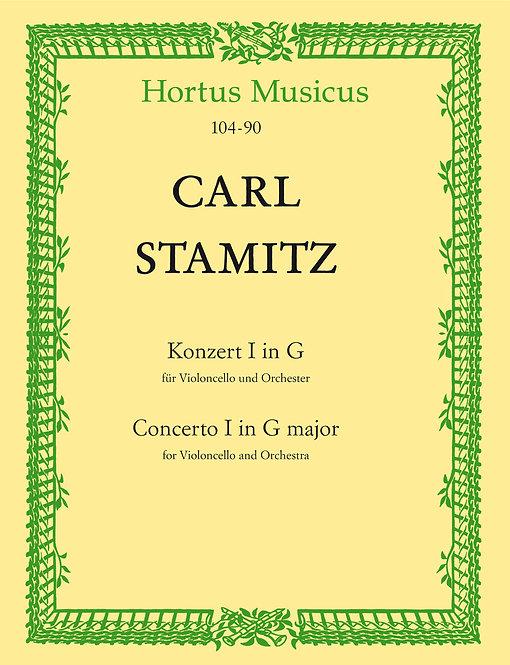 Stamitz: Konzert für Violoncello und Orchester Nr. 1 G-Dur