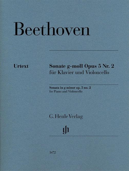 Beethoven: Sonate g-moll op. 5 Nr. 2
