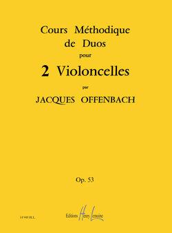 Cours méthodique de duos pour deux violoncelles Op.53