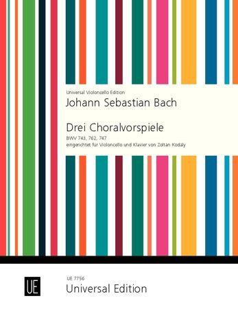 Johann Sebastian Bach: 3 Choralvorspiele