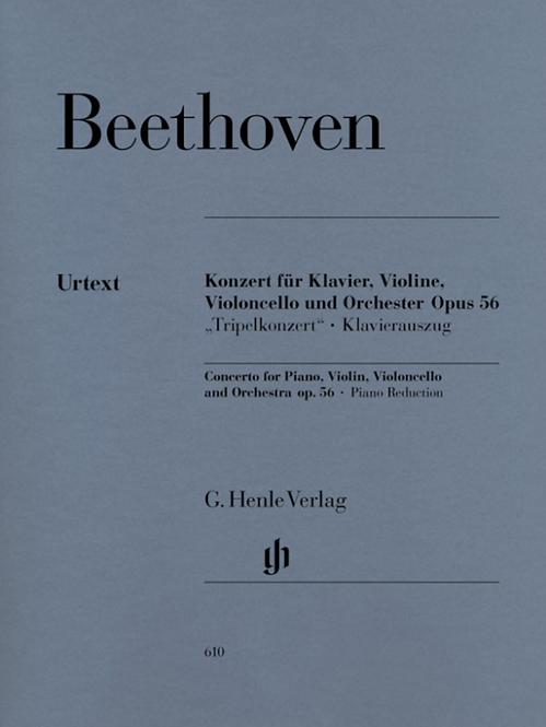 Beethoven: Konzert C-dur op. 56 für Klavier, Violine und Violoncello