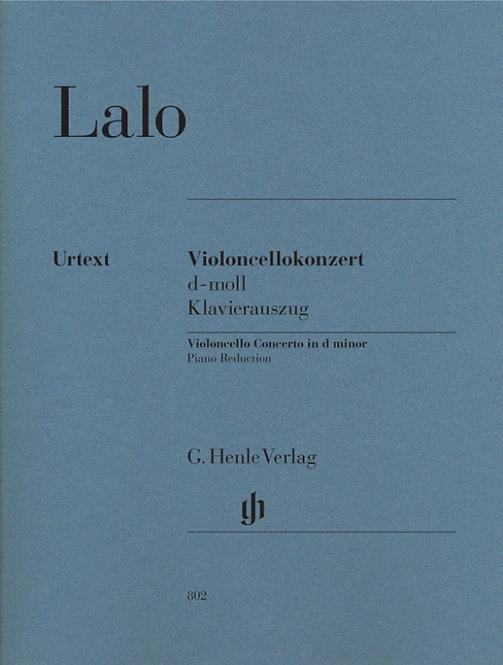 Lalo: Violoncellokonzert d-moll