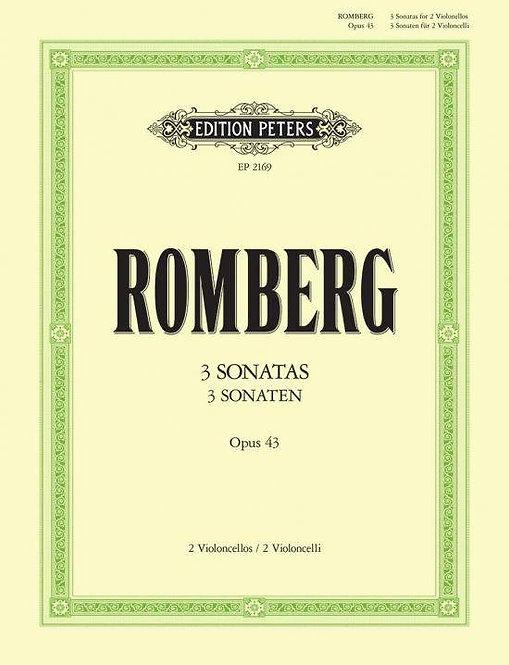 Romberg: Sonaten op. 43 Nr. 1-3
