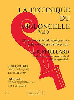 Feuillard: Technique du violoncelle Vol.3