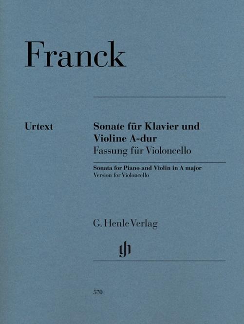Franck: Violinsonate A-dur für Violoncello
