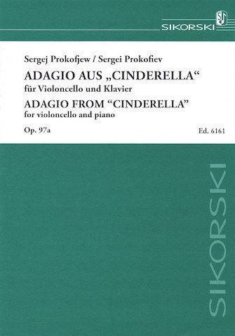 "Prokofiev: Adagio from ""Cinderella "" op. 97A (for Violoncello and Piano)"