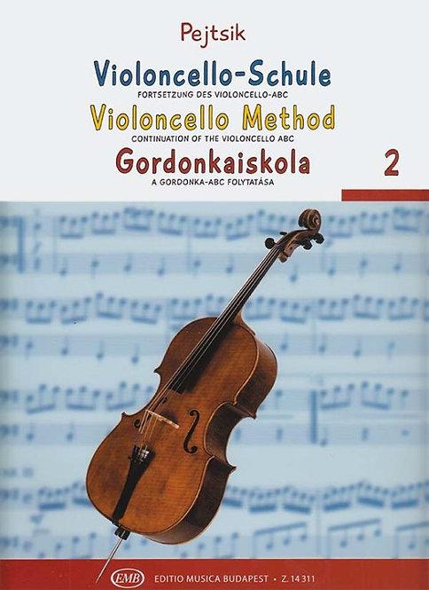 Violoncello-Method 2 (Continuation of the Violoncello ABC)