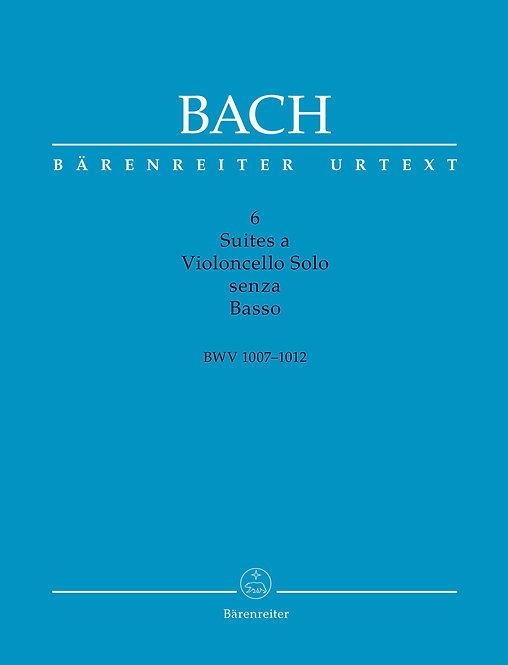 Bach: 6 Suites a Violoncello Solo senza Basso BWV 1007-1012