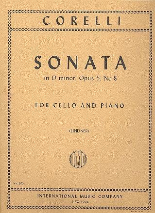 Corelli: Sonata in D minor. Op. 5 No. 8