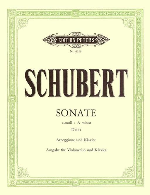 Schubert: 'Arpeggione'-Sonate a-moll D 821