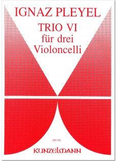 Trio VI für 3 Violoncelli