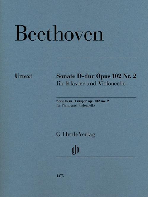 Beethoven: Violoncellosonate D-dur op. 102 Nr. 2