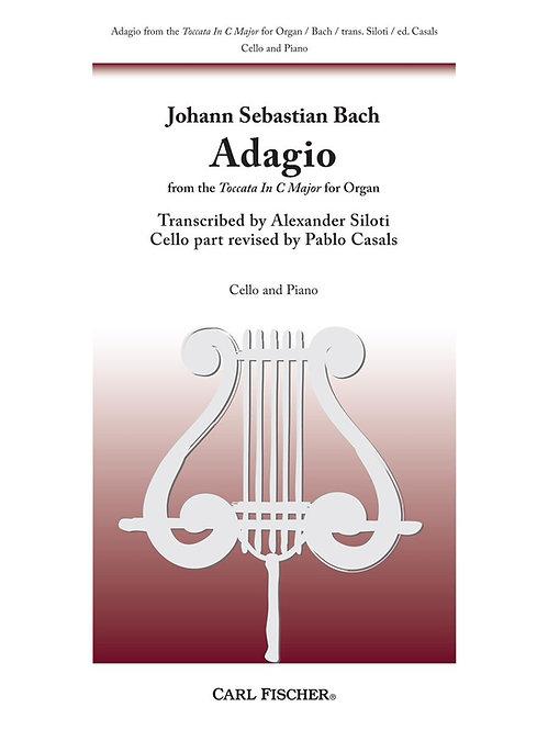 Bach: Adagio from Toccata in C major for Cello and Piano
