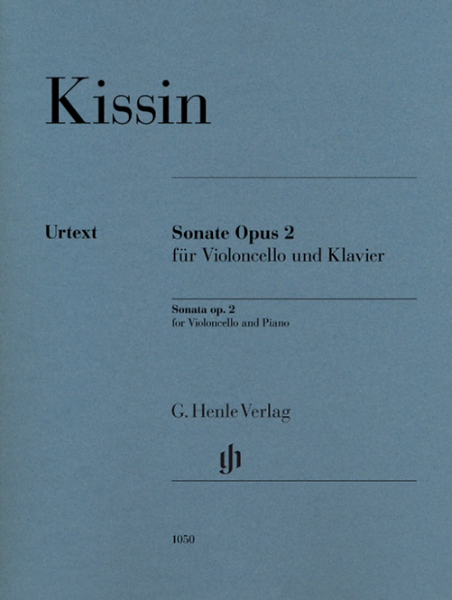 Kissin: Violoncellosonate op. 2