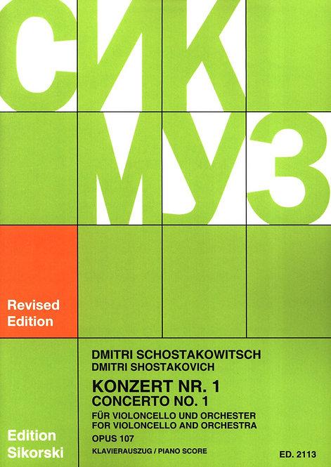 Violoncellokonzert Nr. 1 Op. 107