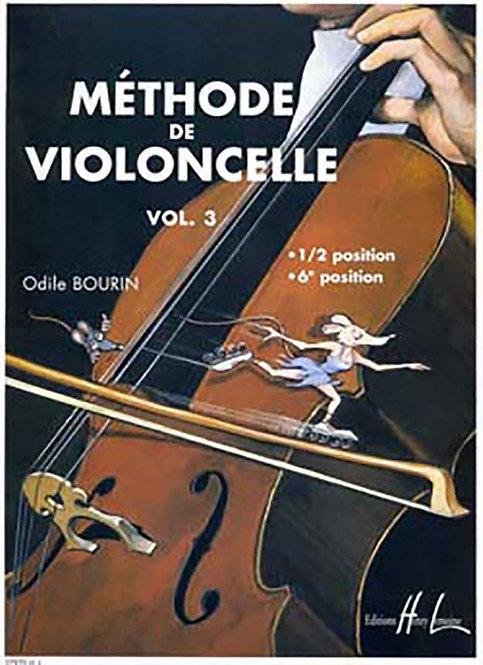 Kopie von Bourin: Méthode de violoncelle Vol. 3