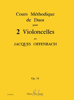 Cours méthodique de duos pour deux violoncelles Op.54