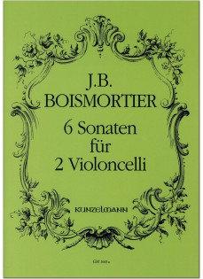 6 Sonaten für 2 Violoncelli