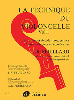 Feuillard: Technique du violoncelle Vol.1