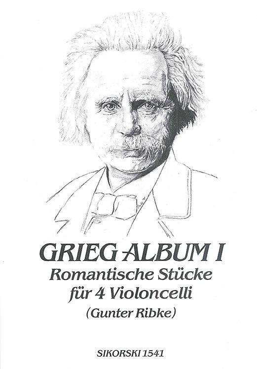 Grieg-Album I - Romantische Stücke für 4 Violoncelli
