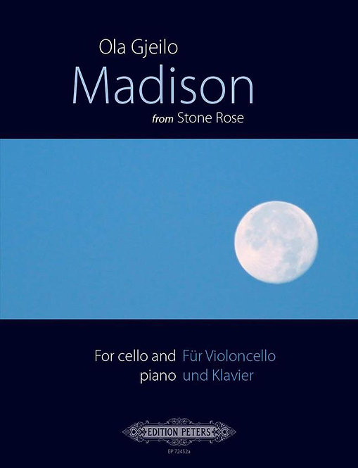 Madison - from 'Stone Rose' - Three Pieces for Cello and Piano