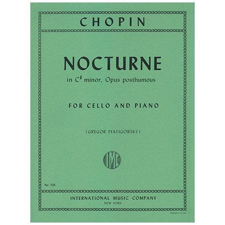 Chopin: Nocturne in C# minor for Cello
