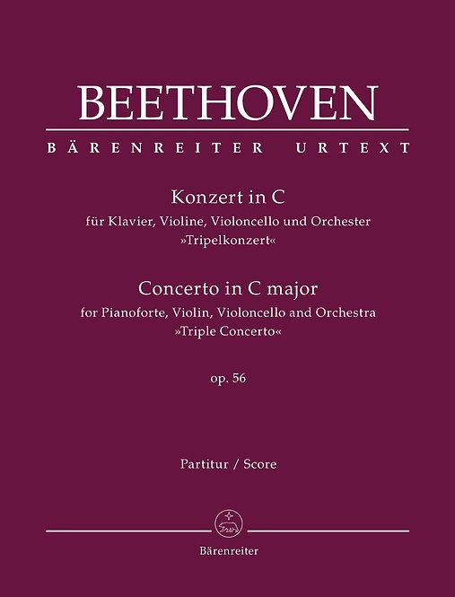 Beethoven: Tripelkonzert op. 56 (Partitur)