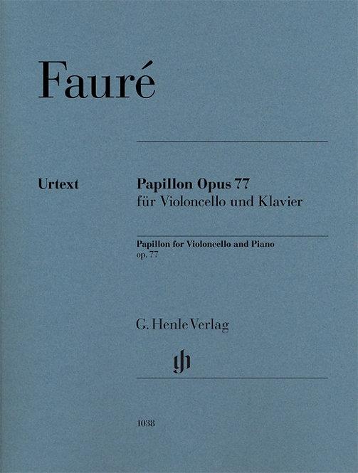 Fauré: Papillon op. 77