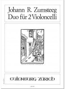 Zumsteeg: Duo für 2 Violoncelli C-Dur
