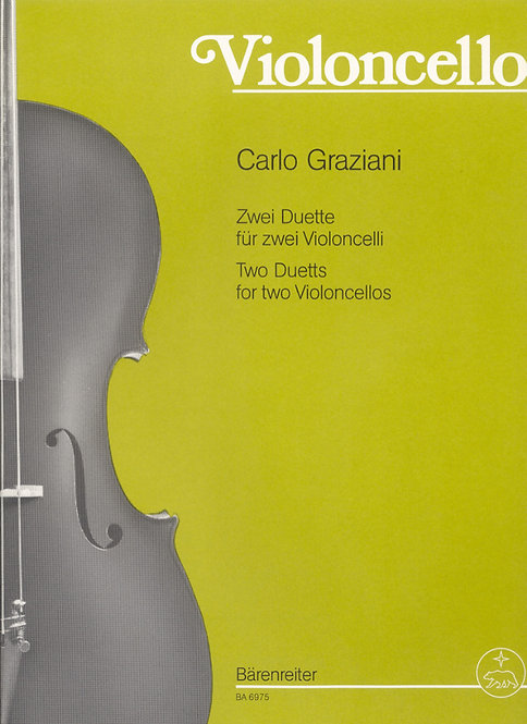 Graziani: Zwei Duette für Violoncelli