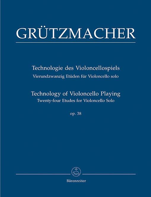 Grützmacher: Technologie des Violoncellospiels op. 38