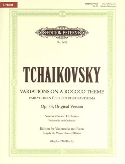 Tschaikowski: Variationen über ein Rokoko-Thema