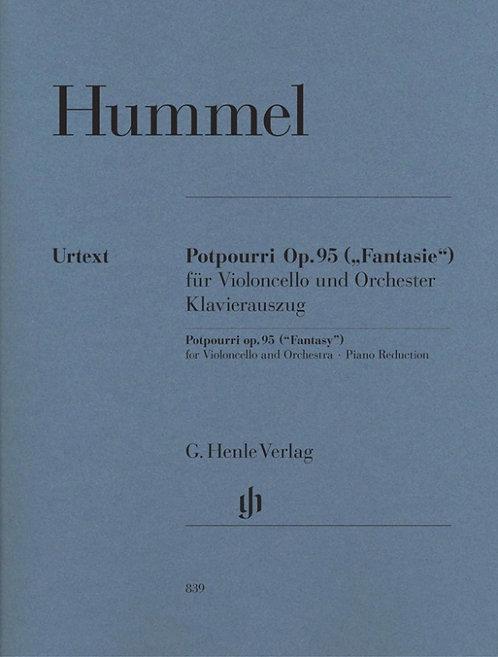 Potpourri (Fantasie) op. 95 für Viola und Orchester, Fassung für Violoncello