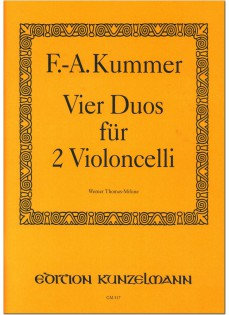 Kummer: 4 Duos für 2 Violoncello