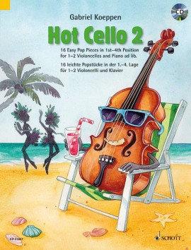 Hot Cello 2 (+ CD)