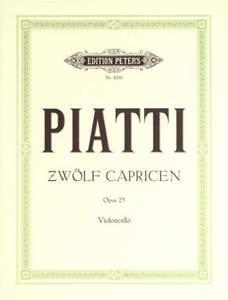 Piatti: 12 Capricen op. 25
