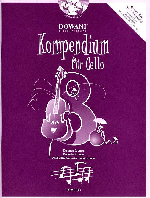 Kompendium für Cello Band 8 (+CD)