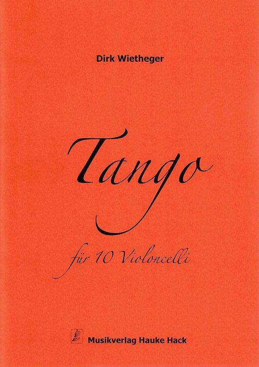Wietheger: Tango für 10 Violoncelli