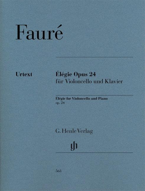 Fauré: Élégie op. 24 für Violoncello und Klavier