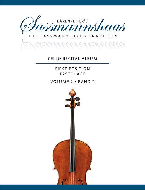 Cello Recital Album. Band 2