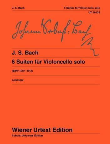 Johann Sebastian Bach: Suiten für Violoncello solo BWV 1007–1012