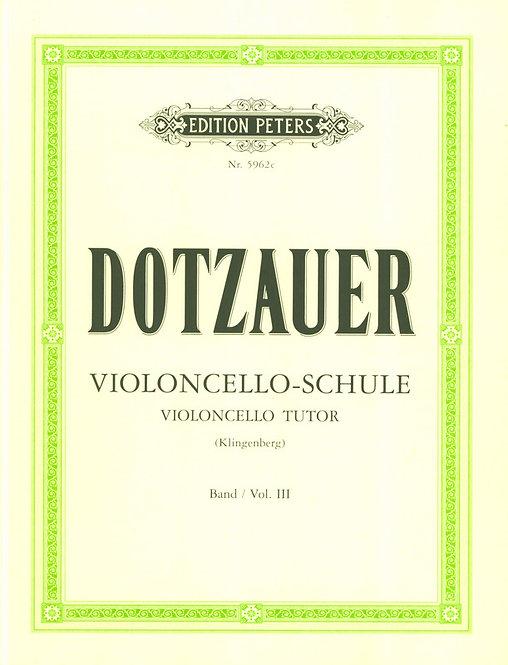 Dotzauer: Violoncello-Schule 3 (die übrigen Lagen)