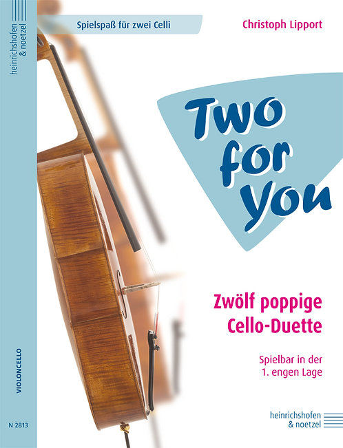 """Two for You"" - Zwölf poppige Cello-Duette"